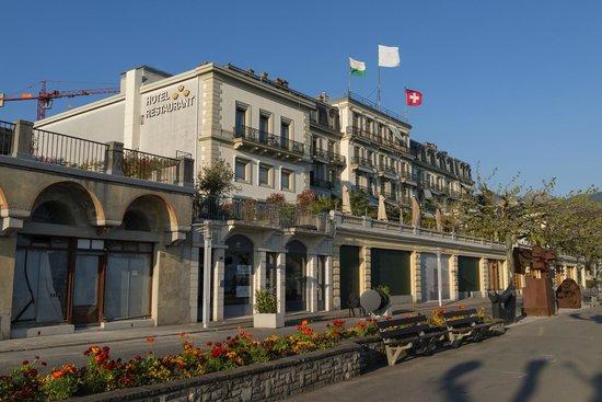 Hotel des Trois Couronnes: ホテル