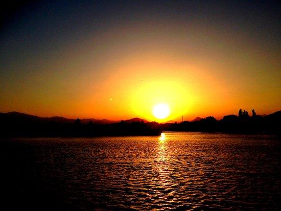 Lindos Pension: Sunrise is always a wonder