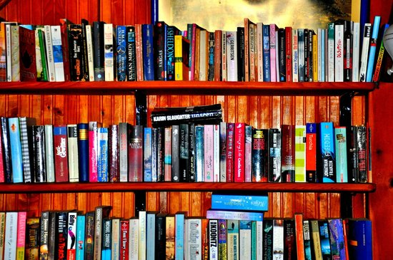 Lindos Pension : Great guest library area