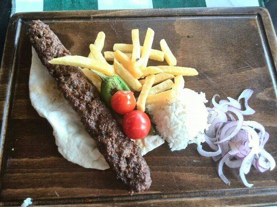 The Lemon Tree Restaurant: Tipico kebab turco
