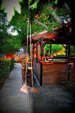 Lindos Pension : Beautiful garden