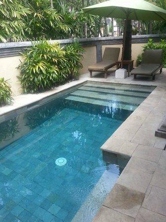 The Tanjung Benoa Beach Resort - Bali: Private Pool in Villa