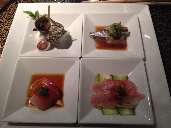 Matsuhisa: Assorted sushi