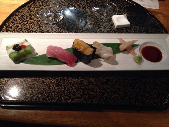 Matsuhisa: Sushi platter