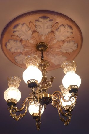 Hotel Blue: Light fittings in the dining room