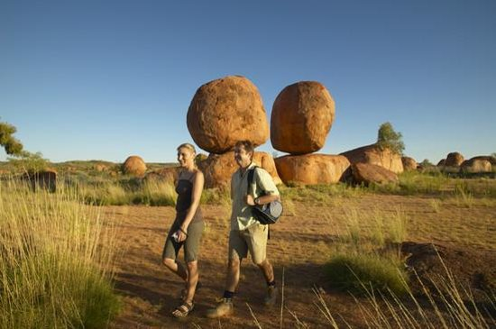 Territoire du Nord, Australie : Devils Marbles, Tennant Creek and Barkley region