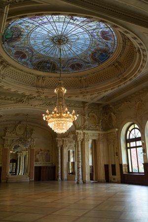 Beau-Rivage Palace: ホテルの内部
