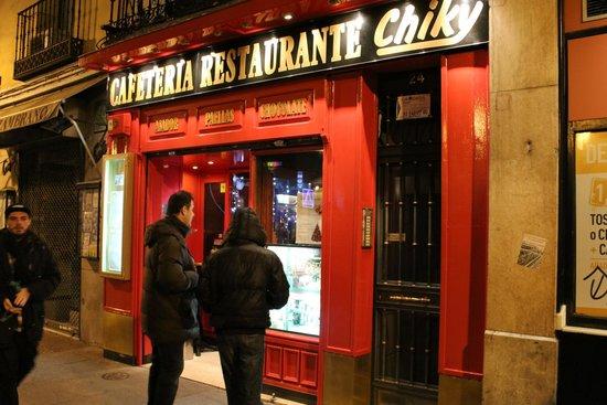 Chiky restaurant, Madrid