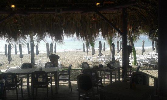Sharks Beach Bar El Yaque: vista