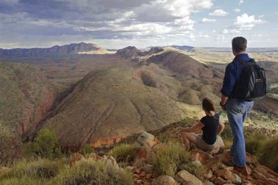 Alice Springs, Australien: Larapinta Trail, Ormiston Gorge