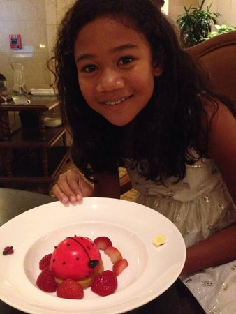 The Ritz-Carlton Orlando, Grande Lakes: Cheese cake from Children's menu
