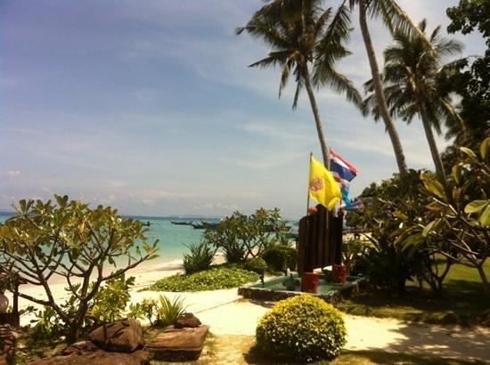 P.P. Erawan Palms Resort : reception area