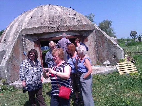Albania: bunker