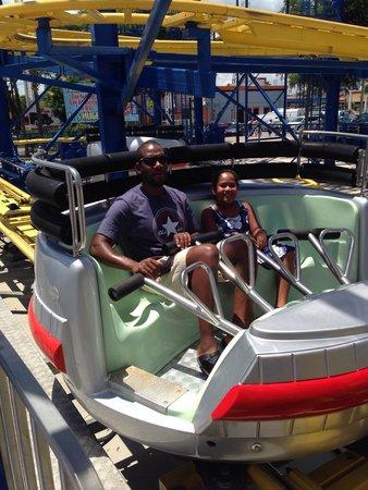 Fun Spot America: Rough ride!
