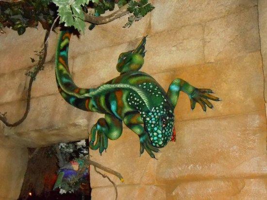 Rainforest Café: decors du restaurant