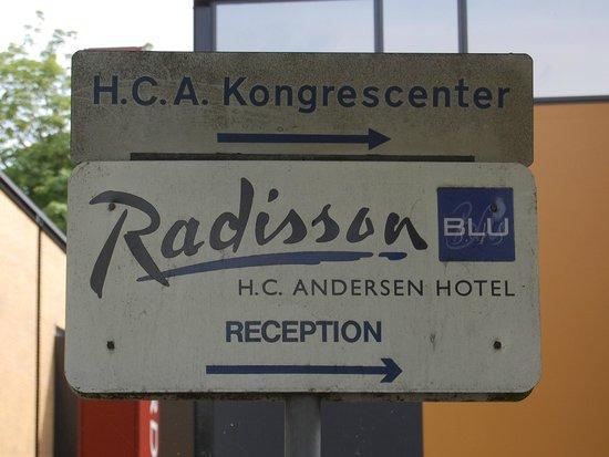 Radisson Blu H.C. Andersen Hotel, Odense: hotellet