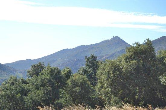 Sentier du Littoral : de l'autre la montagne...