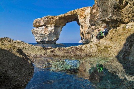 Island of Gozo, Malta: Azure Window, Dwejra, Gozo