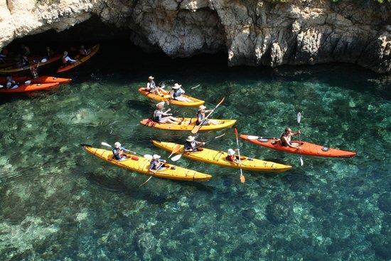 Island of Gozo, Malta: Kayaking in Gozo