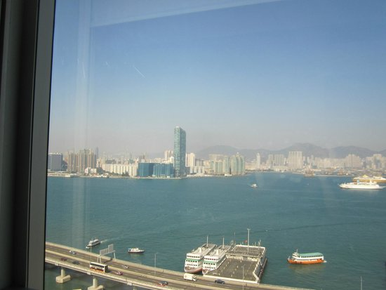 Ibis Hong Kong North Point: View of harbor and ferry!