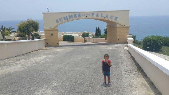 Mitsis Summer Palace: Это я