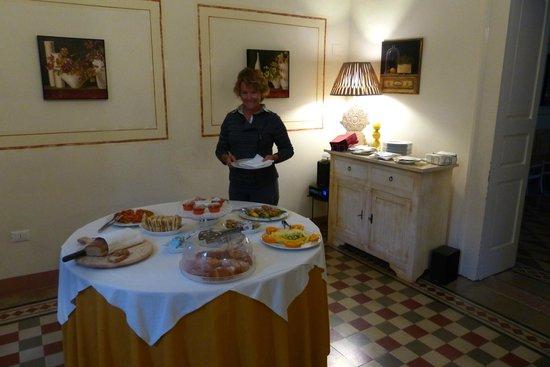 Masseria Baroni Nuovi: Breakfast....