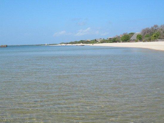 Mkoko House: Manda beach - a 5 mn walk to the guesthouse