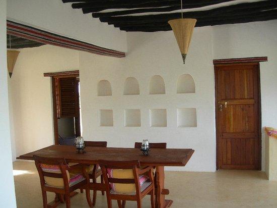 Mkoko House: dining room downstairs