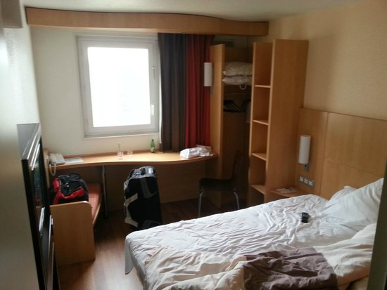 Ibis Paris Porte de Bagnolet: Standard double bed room