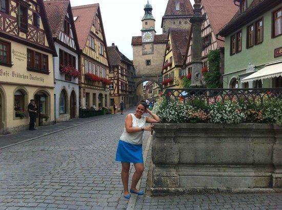 Rothenburg Town Hall (Rathaus): Кукольный город...