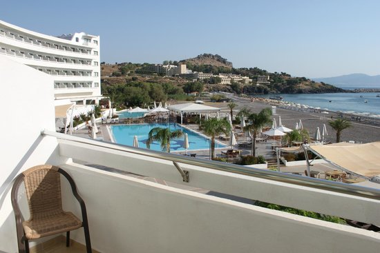 Sensimar Lindos Bay Resort & Spa: Вид из номера 111