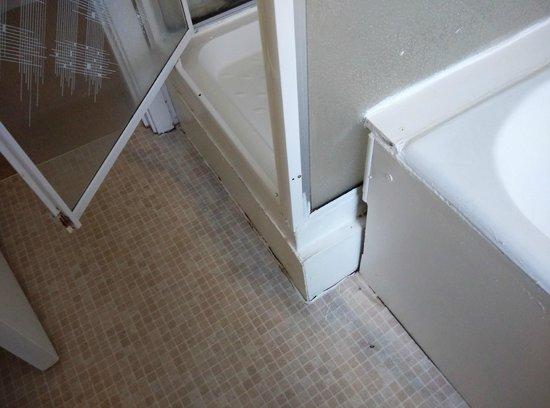 Aaron Court: רקבובית בחדר האמבטיה