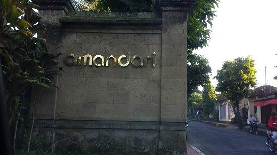Amandari: Entrance to heaven