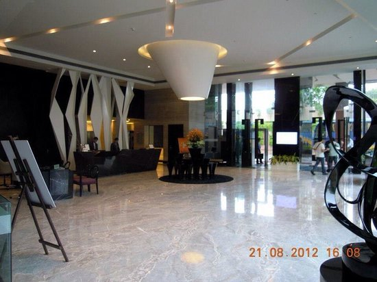 Radisson Blu Agra Taj East Gate: The lobby