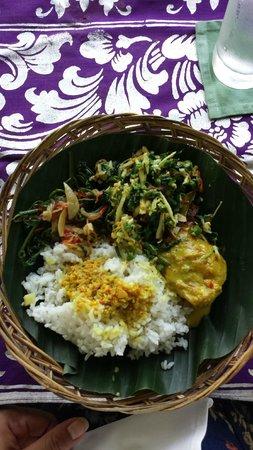 Amandari: My plate - cooking class