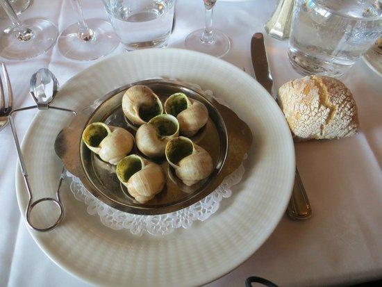 Brasserie Flo - Les Beaux Arts : 6 escargots de bourgogne