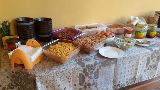 Soggiorno Laura: завтрак