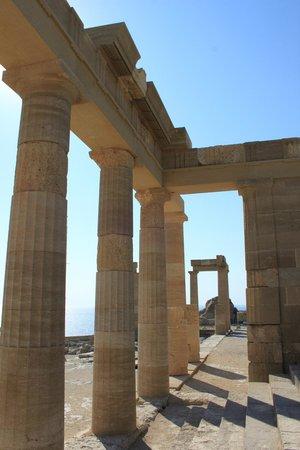 Lindos : Акрополь