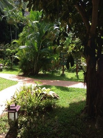Paradise Beach Resort : gardens
