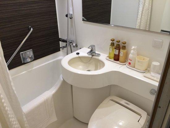 Takamatsu Tokyu REI Hotel : 浴室