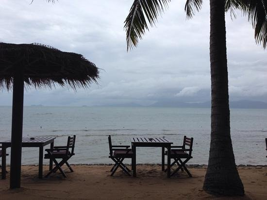 Paradise Beach Resort: stormy start to the day