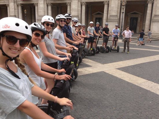 Rex-Tours The Rome Experience: Segwaying the day away!