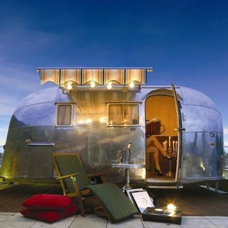 Airstream in The Morgan Penthouse