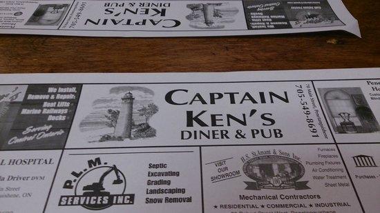Captain Ken's Diner-Billiards : Captain Ken's