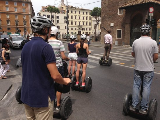 Rex-Tours The Rome Experience: Safety first!!!!