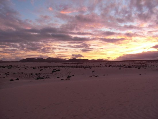 Corralejo Dunes: tramonto dalle dune