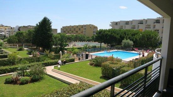 Nemea Residence Le Lido : Utsikt ifra terrasse