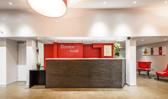 COMFORT HOTEL Champigny sur Marne : Accueil