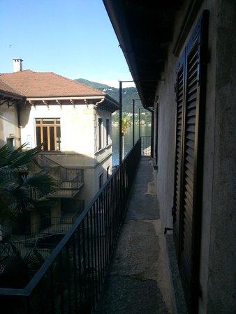 Piccolo Hotel Olina: вид из окна