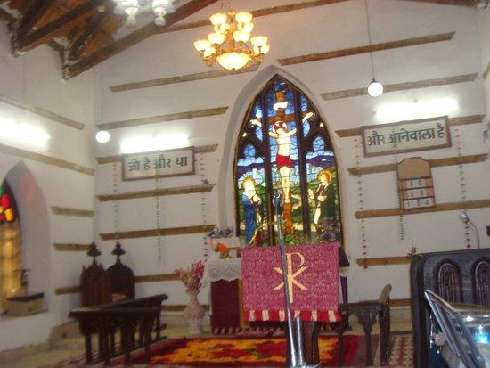 Banjara Camps - Thanedar: Church Inside